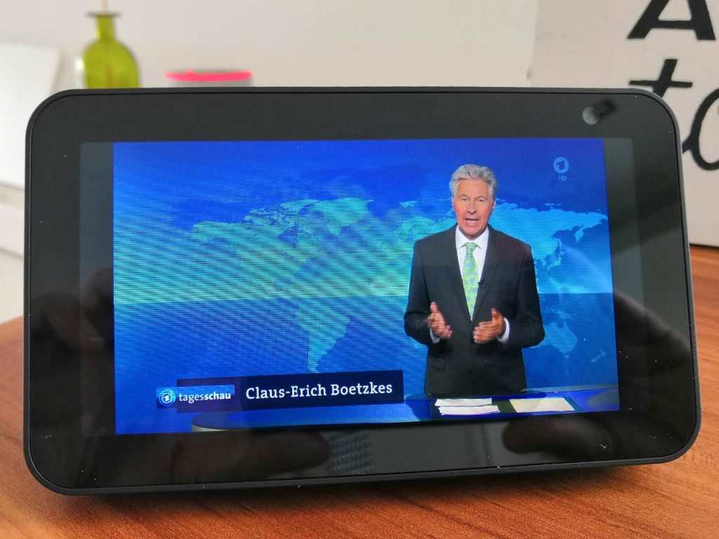 Streamplayer für Amazon Echo - Fernsehen mit Amazon Echo Show 5
