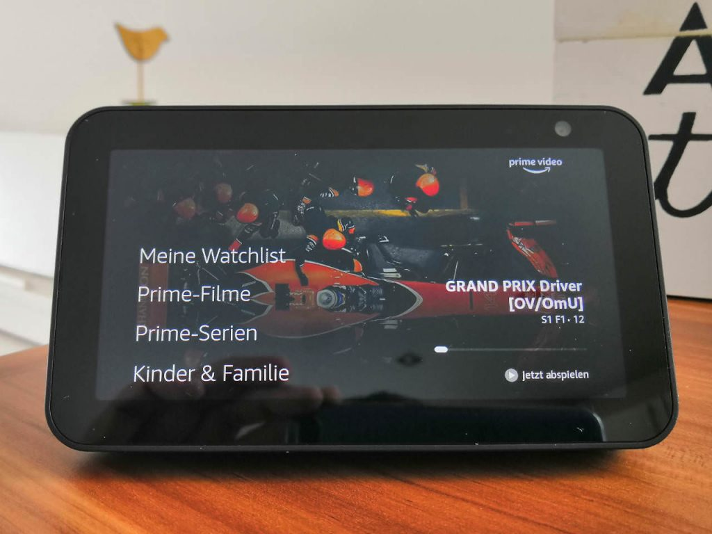 Prime Video auf dem Amazon Echo Show 5