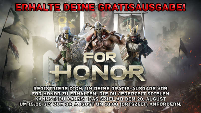 For Honor - Vollversion gratis - PC-Spiele