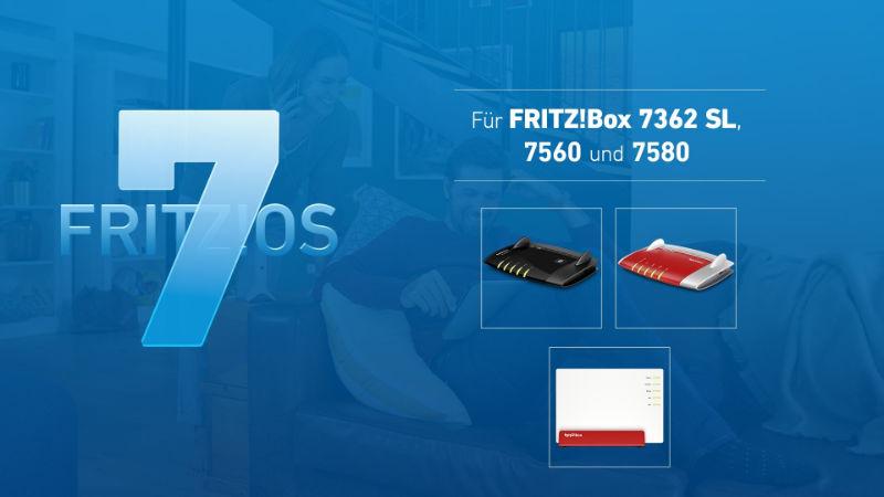 Fritz!OS 7.12 – Neustes Update jetzt auch für FRITZ!Box 7580,7560 und 7362 SL
