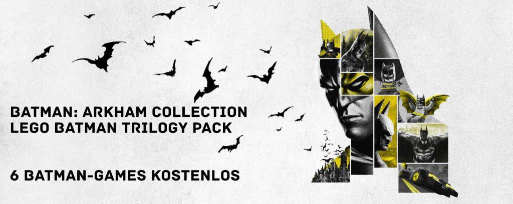 Batman: Arkham Collection und LEGO Batman Trilogy Pack kostenlos bis zum 26.09. (Windows-PC) - verbleiben dauerhaft im Konto