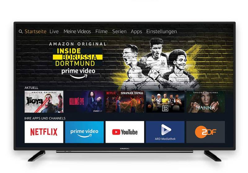 Neue Grundig Fernseher mit Fire TV integriert