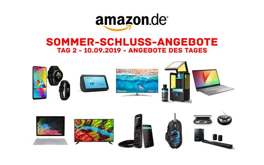 Sommerschlussverkauf bei Amazon - Sommer-Schluss-Angebote 2019 - Tag 2