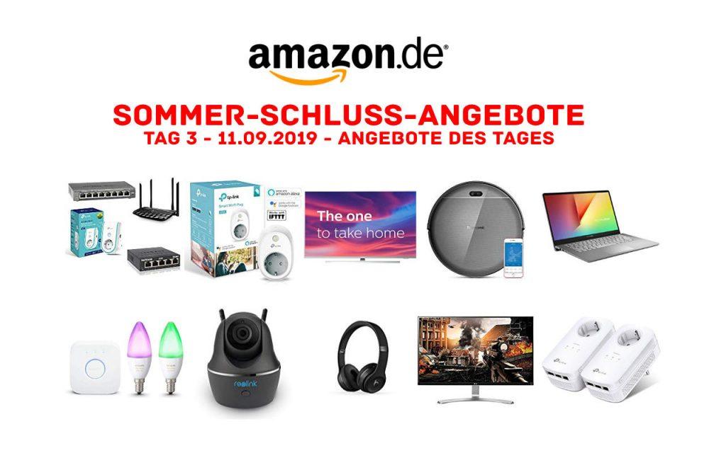 Sommerschlussverkauf bei Amazon - Sommer-Schluss-Angebote 2019 - Tag 3
