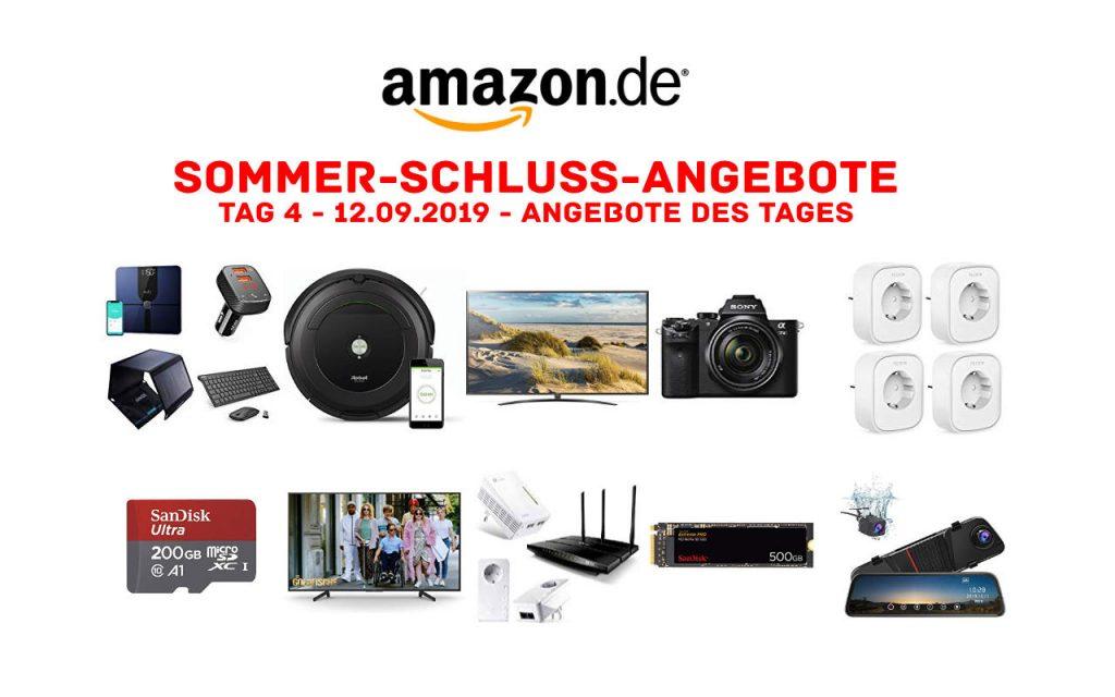 Sommerschlussverkauf bei Amazon - Sommer-Schluss-Angebote 2019 - Tag 4