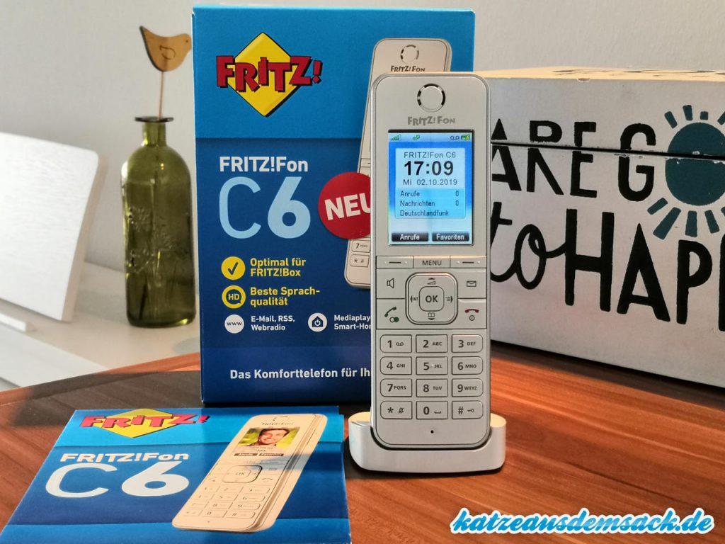 FRITZ!Fon C6 - Testkandidat - DECT-Telefon - neuste Version 2019 von AVM