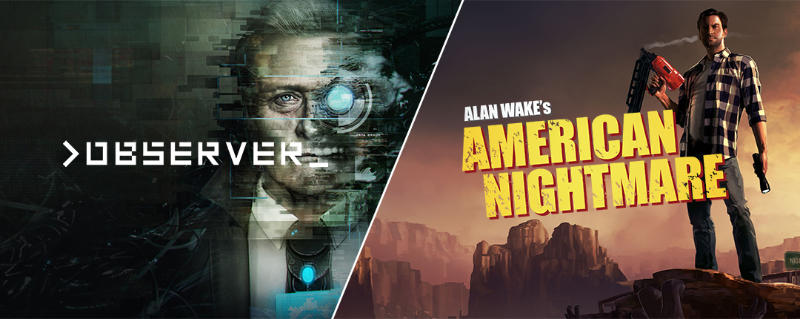 Observer (Windows/Mac) und Alan Wake's American Nightmare (Windows) kostenlos - Spiele gratis für Euren Windows-PC/Mac