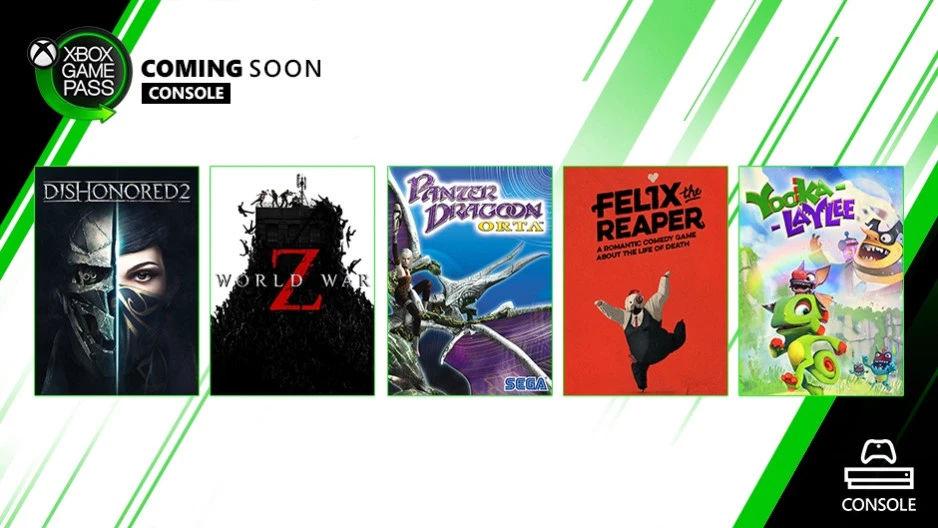 Xbox Games Pass - Neue Spiele für Oktober angekündigt / bekanntgegeben