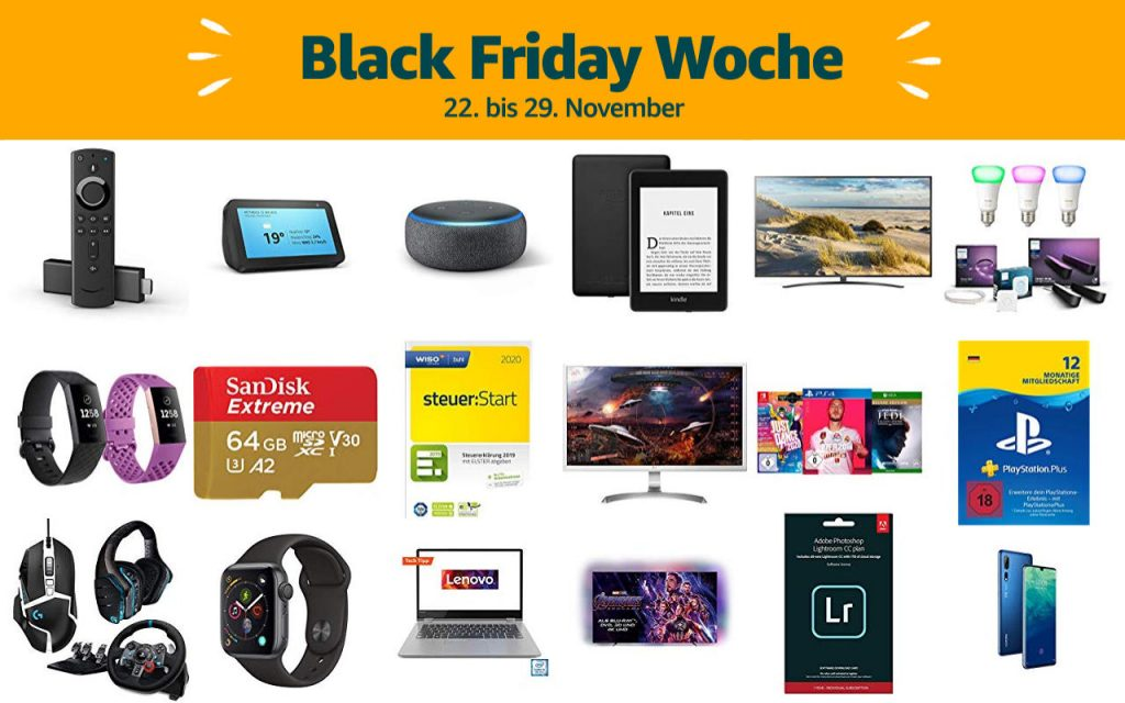 Black Friday Woche 2019 - Schnäppchen und Deals
