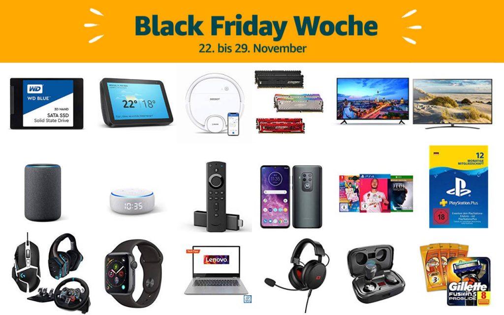 Black Friday Woche 2019 - Schnäppchen und Deals - Tag 2 - 23. November