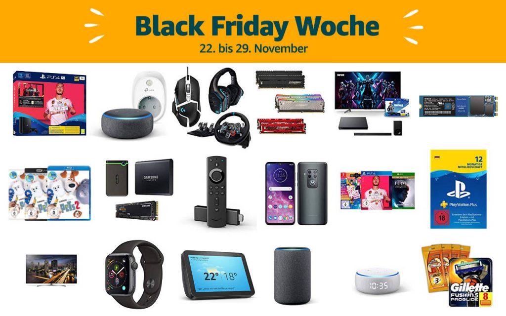 Black Friday Woche 2019 - Schnäppchen und Deals - Tag 3 - 24. November