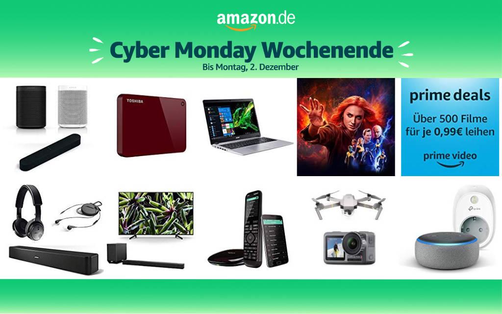 Cyber Monday Wochenende 2019 - Schnäppchen und Deals - Tag 1 - 30. November