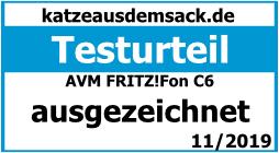 AVM FRITZ!Fon C6 - Testurteil - ausgezeichnet