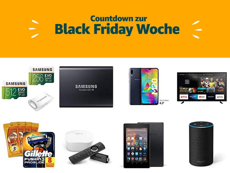 Countdown zur Black Friday Woche 2019 - Schnäppchen und Deals