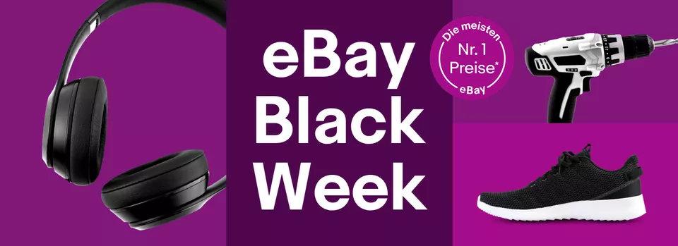 eBay Black Week - WOW Angebote und Gutscheine bis zum Cyber Monday