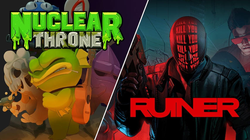 Nuclear Throne (Windows/Mac) und Ruiner (Windows) kostenlos bis zum 14. November - Spiele gratis für Euren Windows-PC/Mac