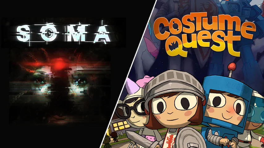 SOMA (Windows/Mac) und Costume Quest (Windows) kostenlos - Spiele gratis für Euren Windows-PC/Mac