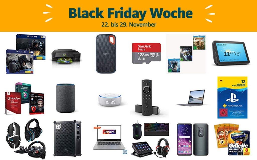 Black Friday Woche 2019 - Schnäppchen und Deals - Tag 4 - 25. November