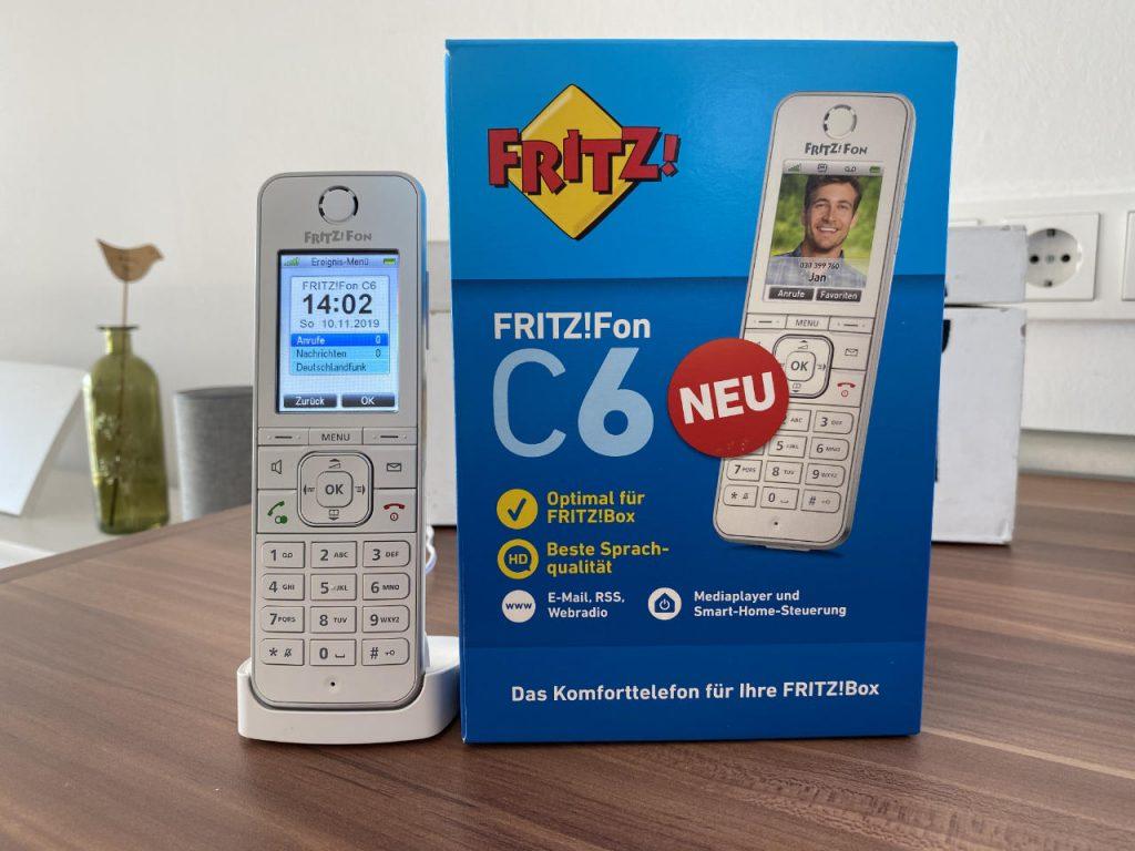 Testbericht FRITZ!FON C6 von AVM - neues DECT Schnurlostelefon