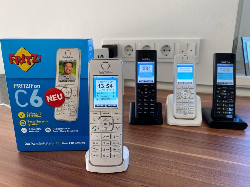 FRITZ!Fon C6 - das aktuell beste DECT-Telefon von AVM für FRITZ!Box-Nutzer