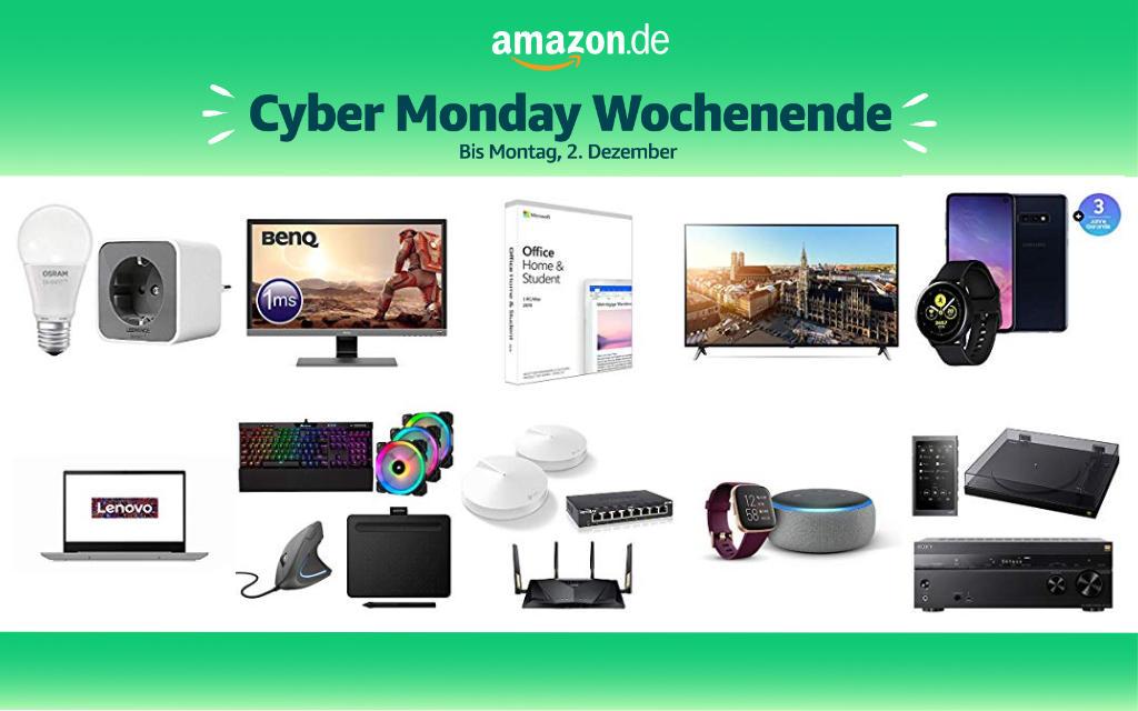 Cyber Monday Wochenende 2019 - Schnäppchen und Deals - Tag 3 - 02. Dezember - Cyber Monday