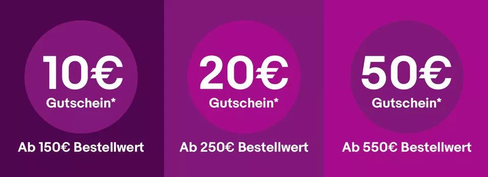 eBay Cyber Monday Gutschein - Dezember 2019 - bis zu 50 € sparen
