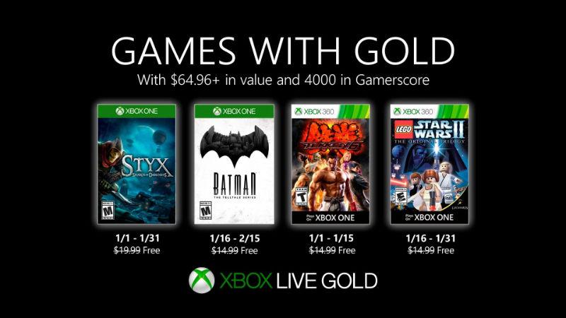 Monatlich kostenlose Spiele mit Xbox Live Gold und Xbox Game Pass Ultimate - Januar 2020