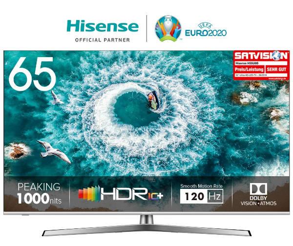 Hisense Fernseher günstiger -4K UHD - HDR10+ und Dolby Vision