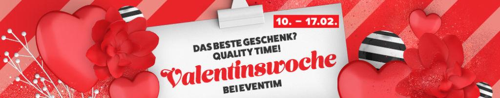 Eventim - 10 Euro Gutschein im Februar 2020 - Valentinswoche