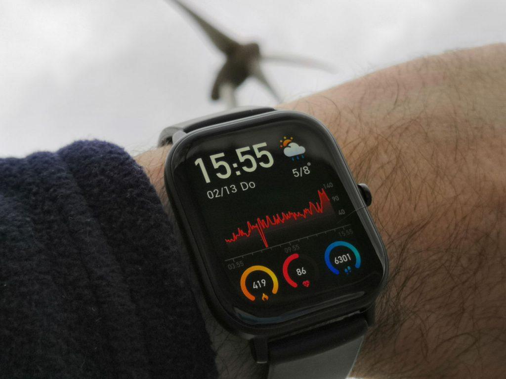 Huami Amazfit GTS Smartwatch (Xiaomi) - Unser aktueller Testkandidat