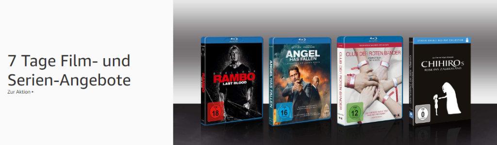 7 Tage Film- und Serien-Angebote - reduzierte Filme und Serien auf DVD und Blu-ray (auch 4K UHD und 3D)