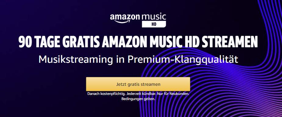 Amazon Music HD - Music Unlimited in HD und UltraHD-Qualität - Hörbar oder nicht?
