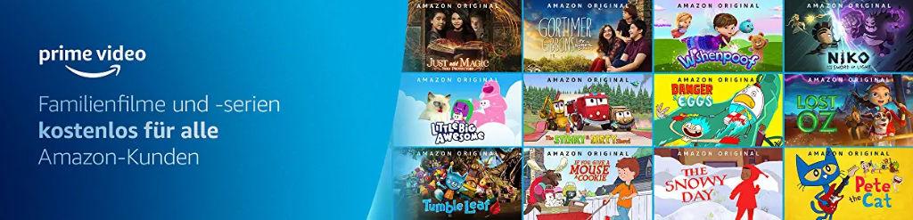 Prime Video: Auch ohne Abo kostenlos streamen - Filme und Serien für Kinder