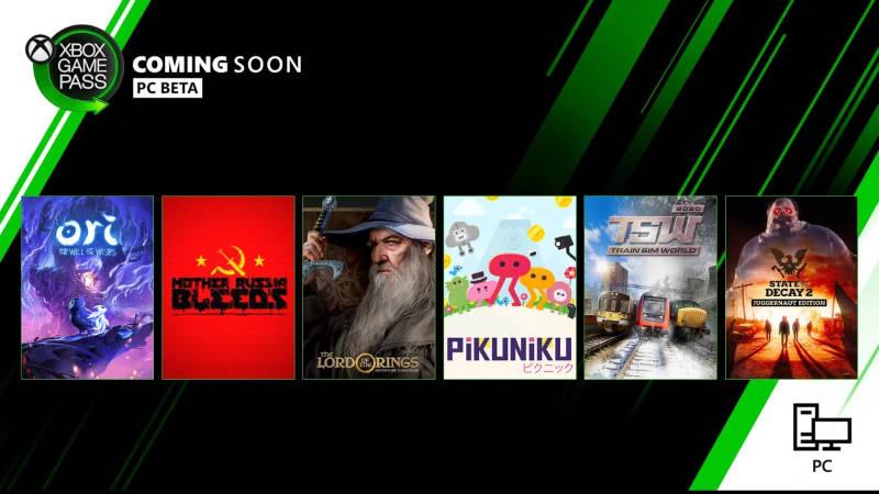 Xbox Game Pass - Neue Spiele im März für den PC (Windows)