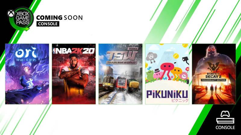 Xbox Game Pass - Neue Spiele im März für die Xbox One Konsole