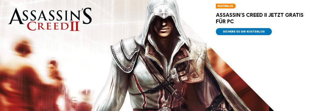 Assassin's Creed 2 kostenlos für PC - Freebies von Ubisoft