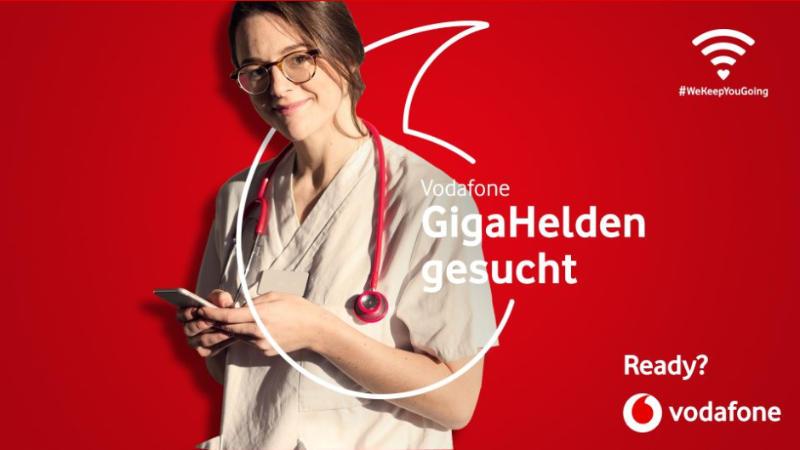 Vodafone - GigaHelden gesucht - 100 GB Datenvolumen kostenlos