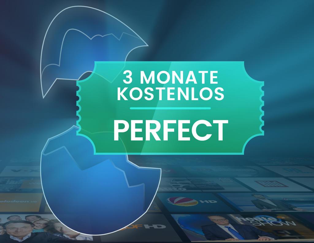 waipu.tv - 3 Monate Perfect kostenlos zu Ostern