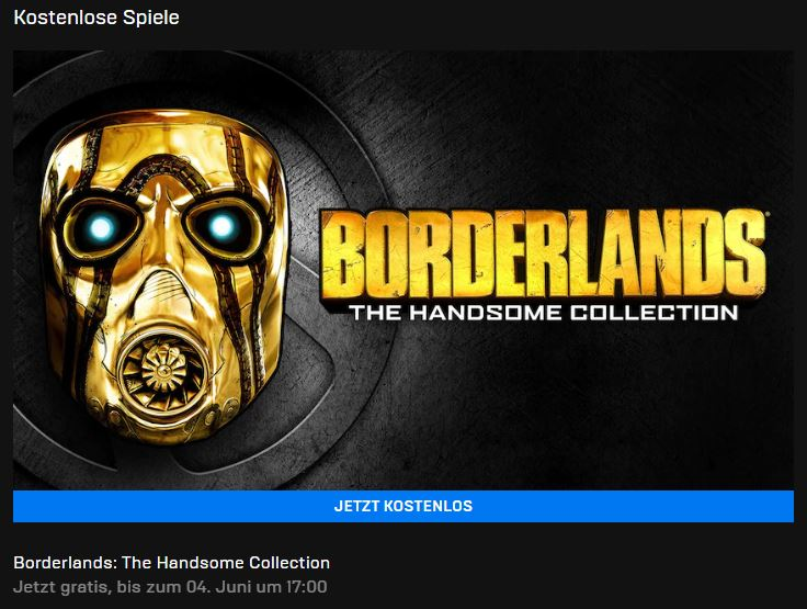 Borderlands: The Handsome Collection kostenlos beim Epic Mega Sale