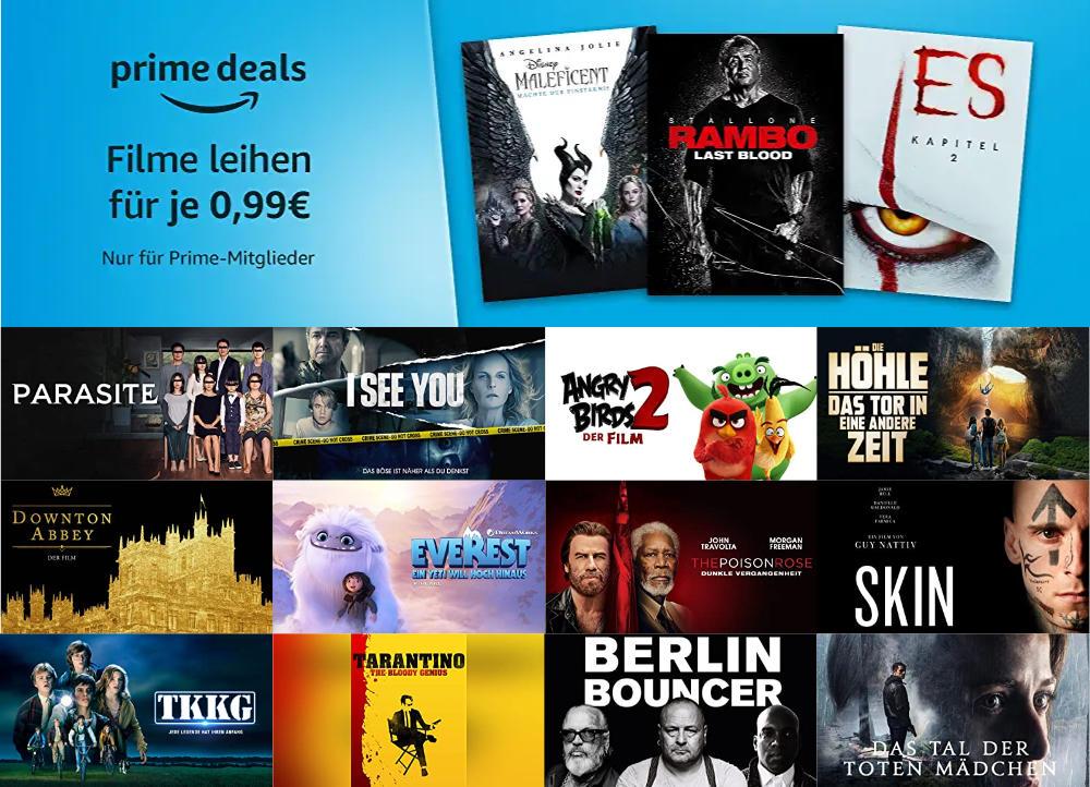Prime Deals - 21 Filme für je 99 Cent leihen - Prime Deals Mai