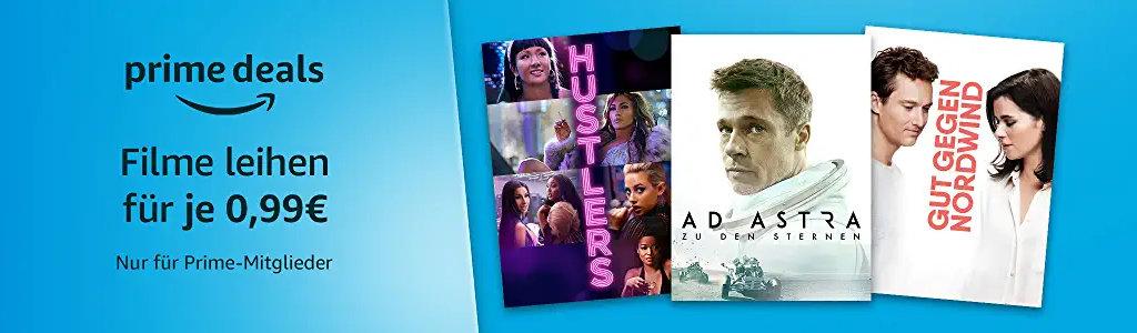 Prime Deals - Über 150 Filme für je 99 Cent leihen - Prime Deals Mai - die Zweite