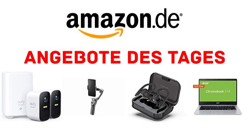 Angebote des Tages - Technik günstiger - DJI Osmo Mobile 3, Acer Chromebooks, eufy Kameras und Video-Türklingel reduziert