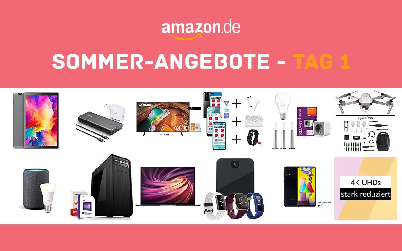 Sommer-Angebote bei amazon.de - Tagesangebote und Blitzangebote - Tag 1