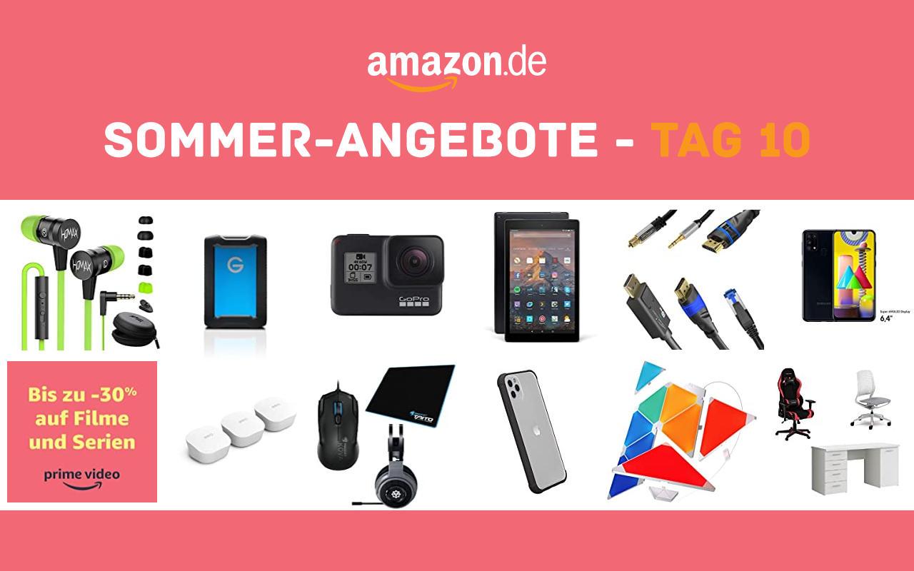Sommer-Angebote bei amazon.de - Tagesangebote und Blitzangebote - Tag 10