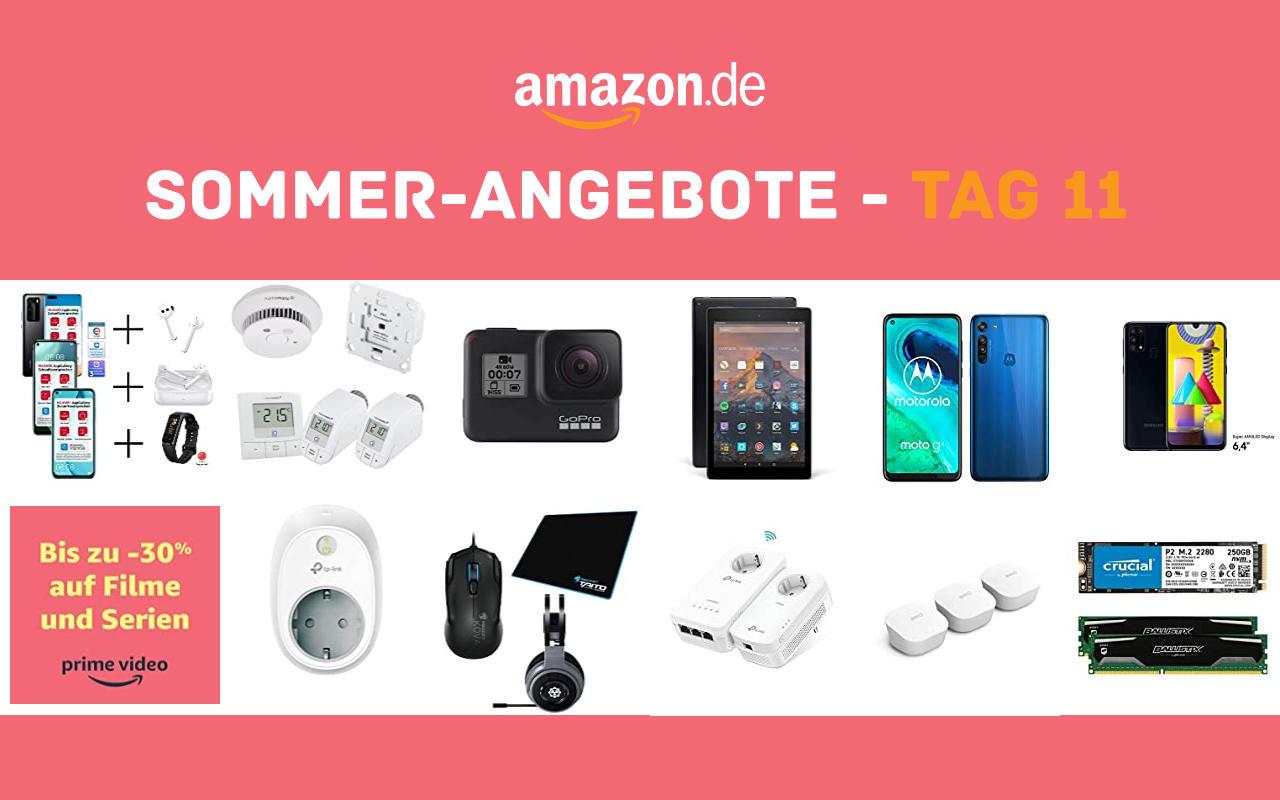 Sommer-Angebote bei amazon.de - Tagesangebote und Blitzangebote - Tag 11