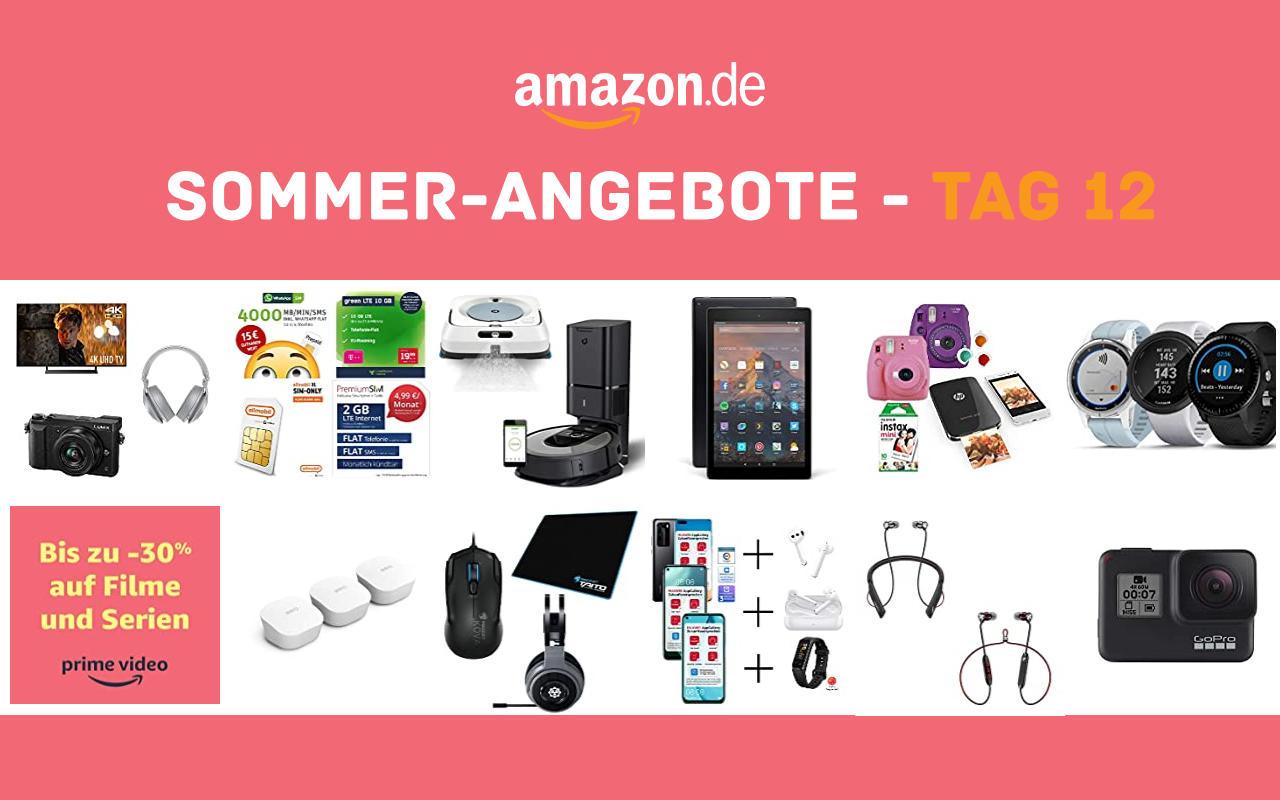Sommer-Angebote bei amazon.de - Tagesangebote und Blitzangebote - Tag 12