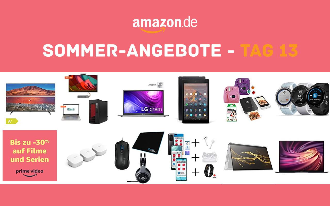 Sommer-Angebote bei amazon.de - Tagesangebote und Blitzangebote - Tag 13