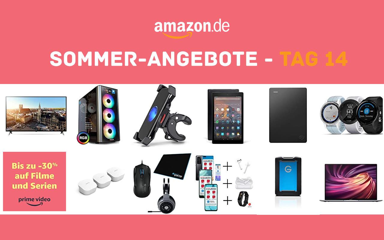 Sommer-Angebote bei amazon.de - Tagesangebote und Blitzangebote - Tag 14