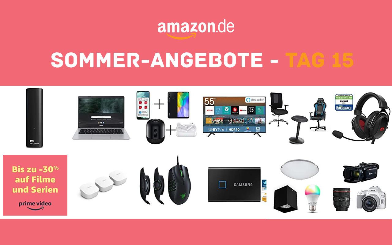 Sommer-Angebote bei amazon.de - Tagesangebote und Blitzangebote - Tag 15