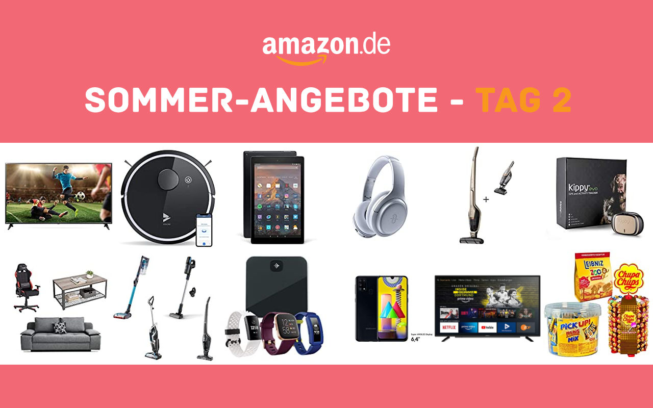 Sommer-Angebote bei amazon.de - Tagesangebote und Blitzangebote - Tag 2